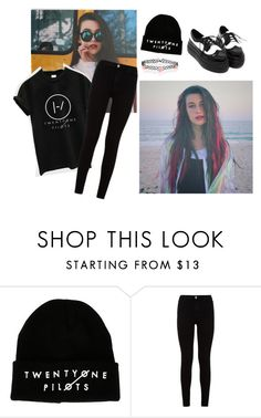 """""""jessie paege"""" by catarinafortunato ❤ liked on Polyvore featuring 7 For All Mankind and Accessorize"""