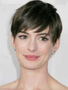 medium and short hair styles hathaway pixie cut pixie cut and 7723 | aea3d90c7aca7723d4b6a1c1278d3eb4 short bangs hairstyles celebrity hairstyles