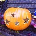 Star Cutout Pumpkin — craftbits.com