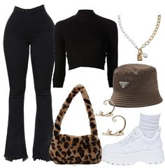 Boujee Outfits, Baddie Outfits Casual, Cute Swag Outfits, Teen Fashion Outfits, Retro Outfits, Polyvore Outfits, Stylish Outfits, Everyday Outfits, Aesthetic Clothes