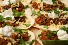 Lentil tacos! have to try this ♥.