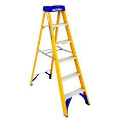 Fibreglass Swingback Step Ladder