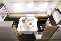 Swiss Air Lines has just unveiled their brand new cabins, which will be able to be seen on their Boeing aircraft. As of January the new planes will fly long-haul, non-stop routes. First Class Plane, Flying First Class, First Class Flights, Swiss Air, Air One, Aircraft Interiors, New Aircraft, Best Airlines, International Airlines