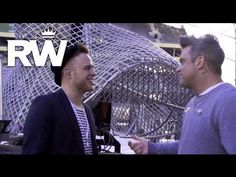 Robbie Williams | 'Kids' Duet With Olly Murs | Take The Crown Stadium Tour 2013 Presented by Samsung - YouTube