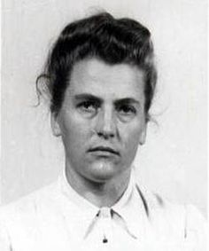 Maria Mandel  First time I have heard of these women. She was an Austrian SS-Helferin infamous for her key role in The Holocaust as a top-ranking official at the Auschwitz-Birkenau extermination camp where she is believed to have been directly responsible for the deaths of over 500,000 female prisoners.