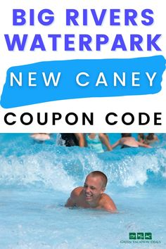 Looking for fun things to do with your family in New Caney, Texas? You'll love Big Rivers Waterpark! It's located north of Houston & includes lots of fun activities. Find out about the attractions offered (wave pool, lazy river, water slides for kids & adults, water rides, ziplining, climbing walls, petting zoo, fishing hole, more). See how you can save money on your Big River tickets. #BigRivers #BigRiversWaterpark #Texas #Houston #HoustonTX #HoustonTexas #waterpark #familyfun… New Caney Texas, Wave Pool, Kids Slide, Fishing Hole, Petting Zoo, Vacation Deals, Texas Travel, Water Slides, Travel With Kids