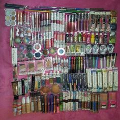 30 Piece Brand New & Sealed Hard Candy' Cosmetics Makeup Excellent Assorted Mixed Lot with No Duplicates by Omagazee Makeup Gift Sets, Makeup Kit, Eyeshadow Makeup, Makeup Cosmetics, Makeup Haul, Hard Candy Makeup, Makeup Items, Summer Makeup, Shopping Hacks