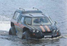 VIKING amphibious vehicle