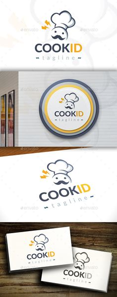 Cook Idea Logo — Vector EPS #learn #food donation • Available here → https://graphicriver.net/item/cook-idea-logo/11392630?ref=pxcr