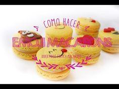 Pues a petición del publico jaja ósea ustedes hoy les traigo esta hermosa y super cute receta, unos Emoji Macarons, o unos French Macarons de Emoticon, yo so...