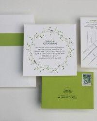 Yan + Graham's Nature-Inspired Destination Wedding Invitations