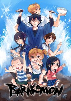 Barakamon is a really funny show, and I love it *-*