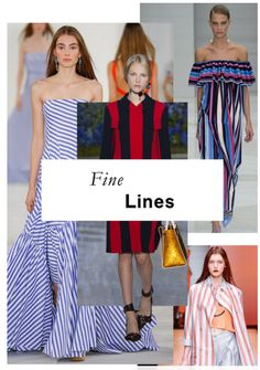 bold pastels, stripes, graphic shapes