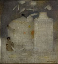 Jan Mankes Japanese vase
