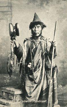 Tibetan Buddhist Ngakpa Chod Practitioner