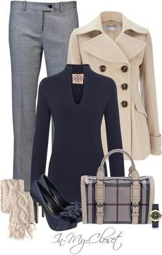 I 0 business attire, business casual, conservative work outfit, casual outf Style Work, Mode Style, Style Me, Business Outfits, Business Attire, Business Fashion, Business Casual, Business Travel, Business Women
