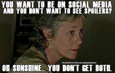 Walking Dead spoilers Carol