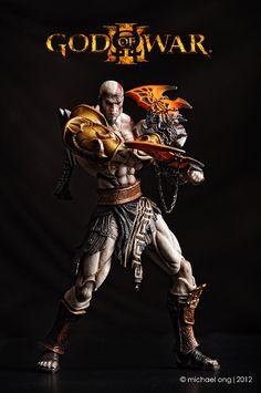 "PlayArts Kai ""Kratos""_GW3 by M. Ong, via Flickr"