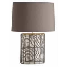 Warner Natural Iron Wire Oval Lamp from Arteriors on ProjectDecor.com