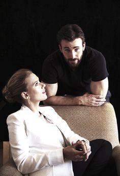 Chris with Scarlett