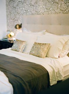 French-inspired gilded bedroom