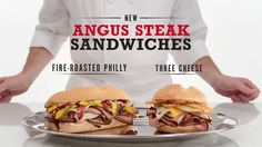 Arby´s Angus Steak Sandwiches - The Best Meat TV Commercial ad advert 2016  Arby's TV Commercial • Arby's advertsiment • Angus Steak Sandwiches - The Best Meat • Arby's Angus Steak Sandwiches - The Best Meat TV commercial.  #arbys #TacoBell #BurgerKing #fastfood #ArbysSliders #GYROS #WeHaveTheMeats #AbanCommercials  Arby´s Commercial 2016