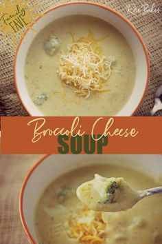 This Easy Broccoli Cheese Soup is a semi-homemade recipe made with the most basic of ingredients and is a hearty, delicious meal that you can enjoy on those cold winter nights! #broccolicheesesoup #broccolisoup #souprecipe #soup #broccoli