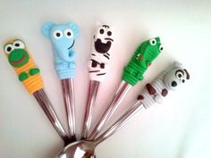 fimo spoons