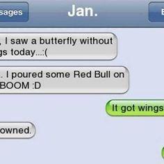 Dammit Jan! Follow @9gag #9gag #butterfly#redbull #tagforlikes #L4L #followback