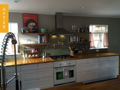 Before & After: A Quirky Kitchen Gets a Farmhouse Makeover — Reader Kitchen Remodel | The Kitchn