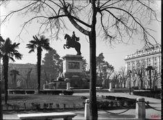 Monumento a Felipe IVA. Plaza de Oriente