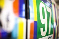 Aston Martin Racing unveils 24 Hours of Le Mans art car Aston Martin Vantage, Le Mans, Racing, Cars, Running, Auto Racing, Autos, Car, Automobile
