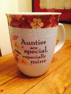 History & Heraldry AUNTIES ARE SPECIAL Mug