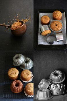Ginger Jaggery Wholewheat Tea Cakes