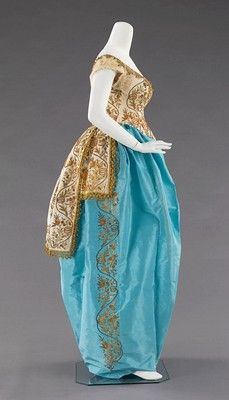 House of Worth Costume (Fancy Dress), circa 1870