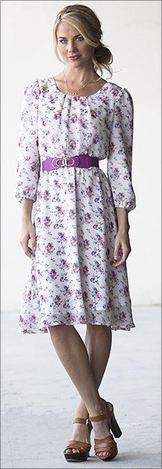 Blake Dress [MDS2521] - $59.99 : Mikarose Boutique, Reinventing Modesty