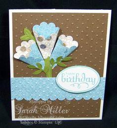 Flower Soft card ideas | ... Stamping Tutorials | Card Making Ideas: Scallop Circle Flower Card
