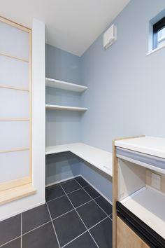 キッチンの家事スペース #キッチンのL字コーナーにカウンターを設置 #キッチンでアイロンがけ Kyoto