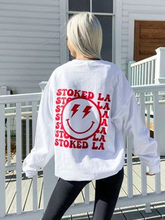 Cute Preppy Outfits, Red Lightning, Design T Shirt, Cute Hoodie, Black And White Drawing, Girls Fashion Clothes, Urban Outfits, Hoodies, Sweatshirts