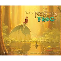 Art of the Princess and the Frog Book   Books   Disney Store