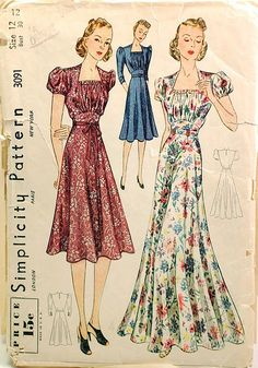Vintage Sewing Patterns | 1930s vintage sewing pattern | Flickr - Photo Sharing!