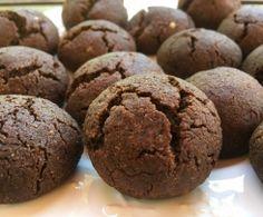 Biscoitos de Trigo Sarraceno e chocolate Sem Gluten/ Sem Lactose... bimby