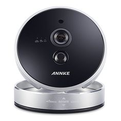 Annke Wireless/WIFI 720P Intelligent Network Cube Camera with PIR sensor,HD CCTV Monitor for Home Security Video Recording(21YB)