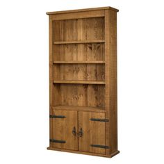 Plank Rustic Bookcase, Conway Furniture