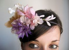 "vintage wild flowers ""onyourhead""!!^^"