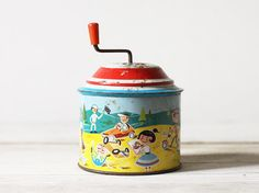 Jouet musical Vintage bruiteur allemand jouets en par FrenchFind