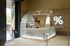 Coffee kiosk by PUDDLE, Kyoto – Japan » Retail Design Blog