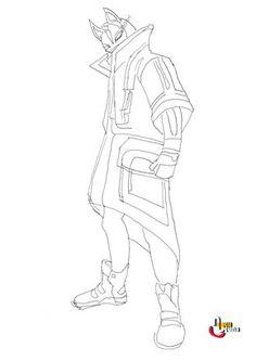 Drİft Fortnİte Draw Basİc Step By Step Beginner Drawing