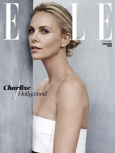 Charlize Theron Covers Elle UK June 2015