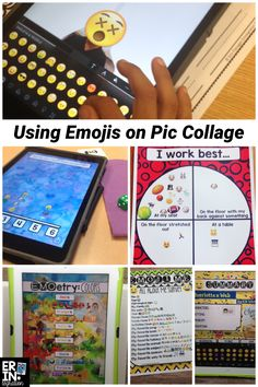 So many cool ideas for using Emojis in the classroom on the free iPad app Pic Collage. Plus how to add Emojis in Pic Collage and how to use Emojis on Pic Collage in the classroom.